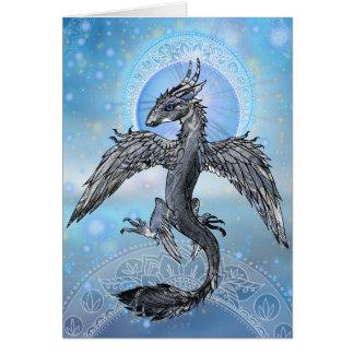 Mystischer Vogel-Drache Karte