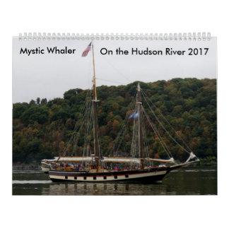 Mystischer Whaler auf dem Hudson 2017 Kalender
