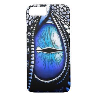 Mystisches Drache-Augen-grafische Kunst iPhone 8/7 Hülle