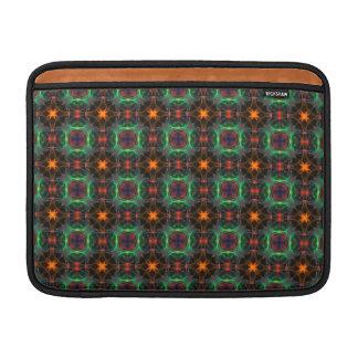 Mystisches orange und Smaragdmuster Sleeve Fürs MacBook Air