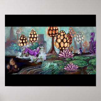 Mysts des Glowshrooms Poster