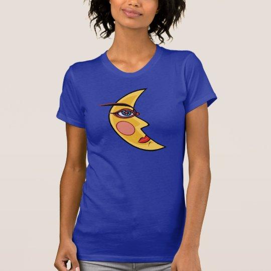 Mythische Mond-Kunst T-Shirt
