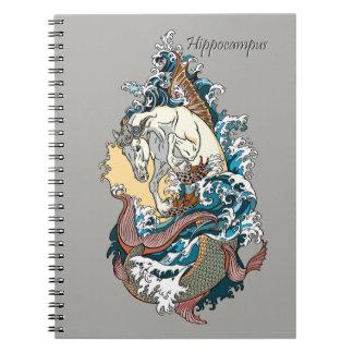 mythologisches Seepferd Notizblock
