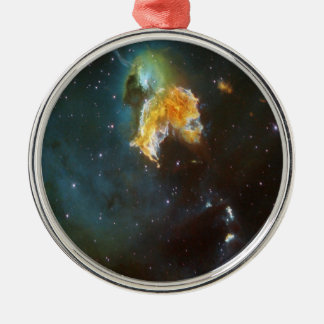 N63A Dame des nächtlichen Himmels Silbernes Ornament