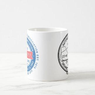 N.A.P.E. Doppellogo-Weiß-Tasse Kaffeetasse