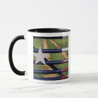 N.A., USA, Texas, See Buchanan, Texas-Flagge Tasse