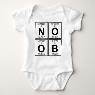 N-O-O-B (noob) - Voll Baby Strampler