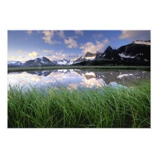 Na, Kanada, Alberta, Tonquin Tal. Jaspis Photodrucke