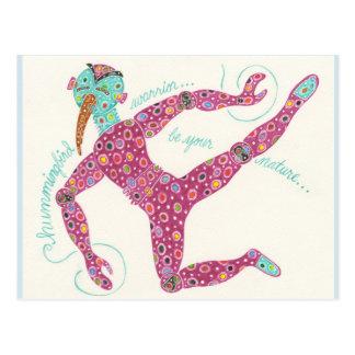 Naben-Reihe #9 der Überlebenden: Kolibri-Krieger Postkarte