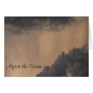Nach dem Sturm Karte