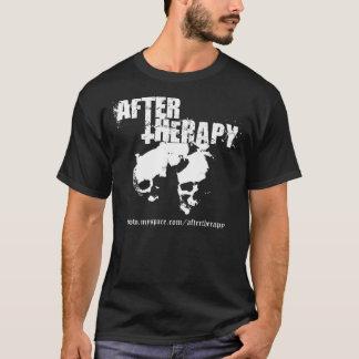 Nach doppelseitigem T - Shirt der Therapie