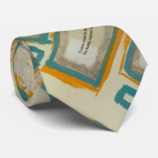 Nach Maß für ihn die Rothko inspirierte Krawatte