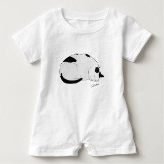 Nachhaltige Baumwollbaby Onsie Baby Strampler