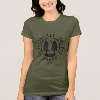 Nachhaltiges Waldpapier T-Shirt