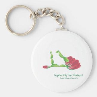 (Nachlässiges grundlegender Knopf Keychain der Schlüsselanhänger