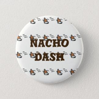 Nacho-Schlag Runder Button 5,7 Cm