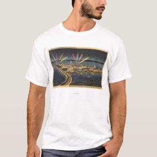Nachtansicht von Schatz-Insel, Internat'l T-Shirt