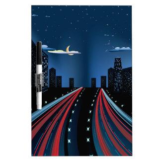 NachtCity Road-Panorama Memoboards