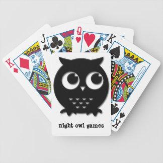 Nachteule Bicycle Spielkarten