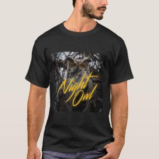 Nachteulen-80er T - Shirt