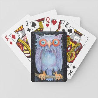 Nachteulen-Spielkarten Spielkarten