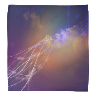 Nachthimmel-SternexplosionBandana Kopftuch