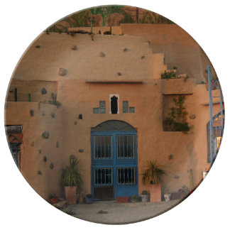 Nachtischstimmungs-Haus dekorative Platte Teller
