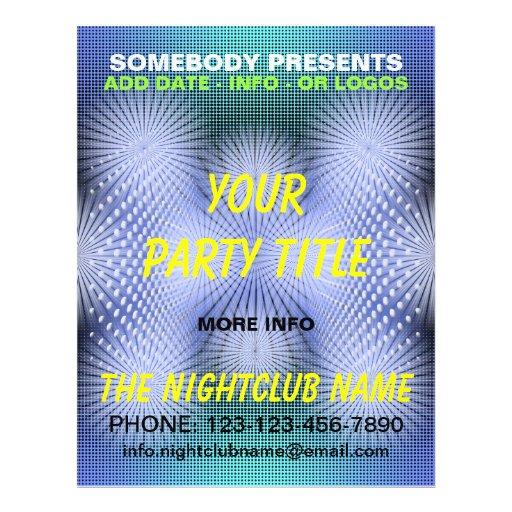 Nachtklub-Party-Flyer