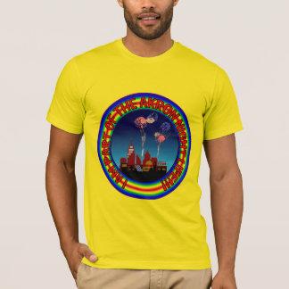 Nachtleben-Hemd Akrons Ohio T-Shirt