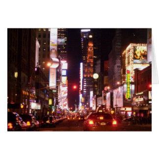 Nachtleben in der Stadt Karte
