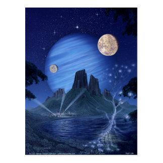 Nachtleben Postkarte