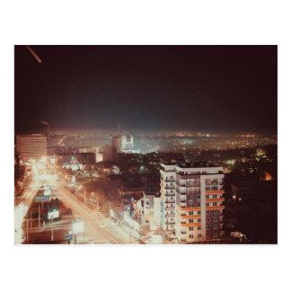 Nachtleben-Postkarte Postkarte
