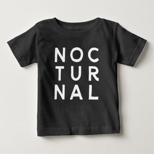 Nächtlich Baby T-shirt
