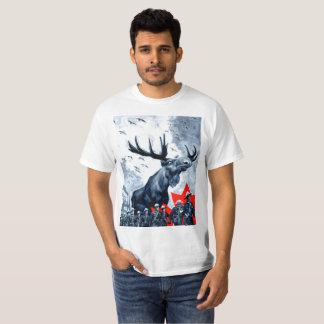 Nachtragender kanadischer ElcheOverlord T T-Shirt