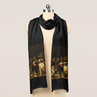 Nachtwache-barocke Malerei Rembrandts Nightwatch Schal