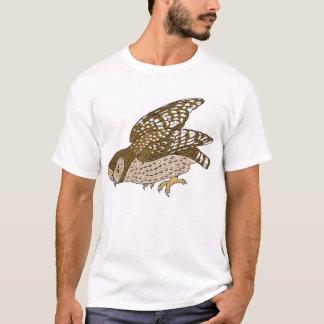 Nackt-Füßige Nachteule T-Shirt