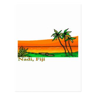 Nadi, Fidschi Postkarte