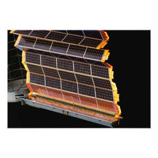 Nahaufnahmeansicht der Solarstromanlagen Photographie