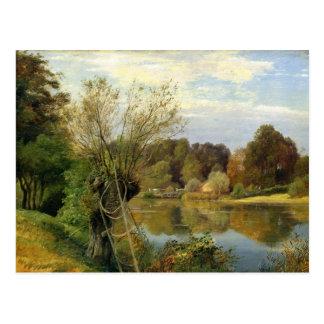 Nahe dem Aumuhle c.1830 Postkarte