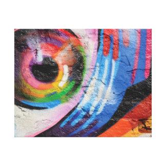 Nahe hohe photographische Kunst des abstrakten Leinwanddruck