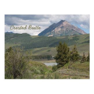 Nahe Peanut See Butte mit Haube, Co-Postkarte Postkarte