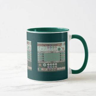 Nähendes Enthusiast-Grün Tasse