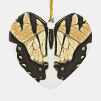 naher Schmetterling Keramik Ornament