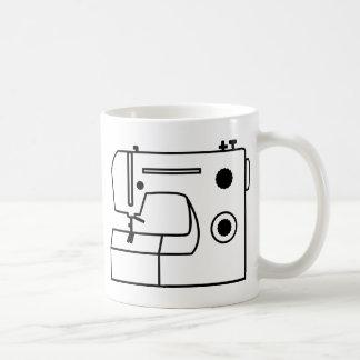 Nähmaschine Kaffeetasse