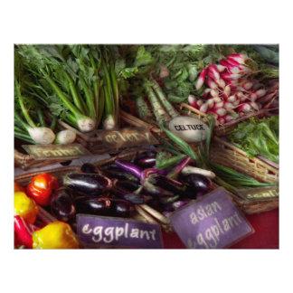 Nahrung - Gemüse - sehr Frischware 21,6 X 27,9 Cm Flyer