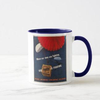 Nahrung kämpft WW2 Tasse