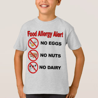 Nahrungsmittelallergie-Alarm T-Shirt