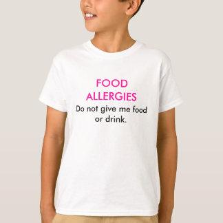 Nahrungsmittelallergie-T - Shirt