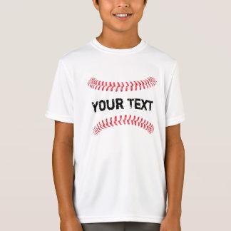 Nahtfastball-Jungen-T - Shirt der