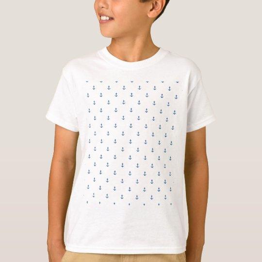 Nahtlose Beschaffenheit des Ankers T-Shirt
